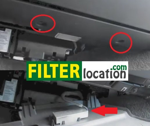 How to replace Land Rover LR2 cabin air filter