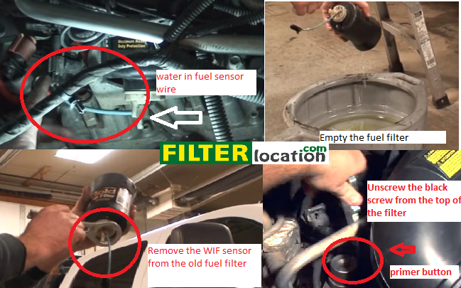 replace fuler filter duramax