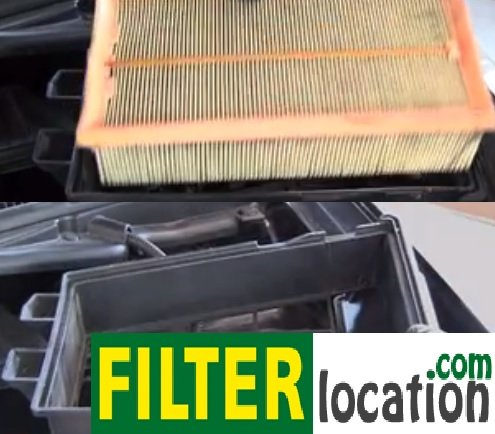 Locate and replace 2007-2012 Nissan Sentra air filter
