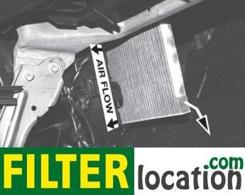Insert new  Alfa Romeo Giulietta cabin filter