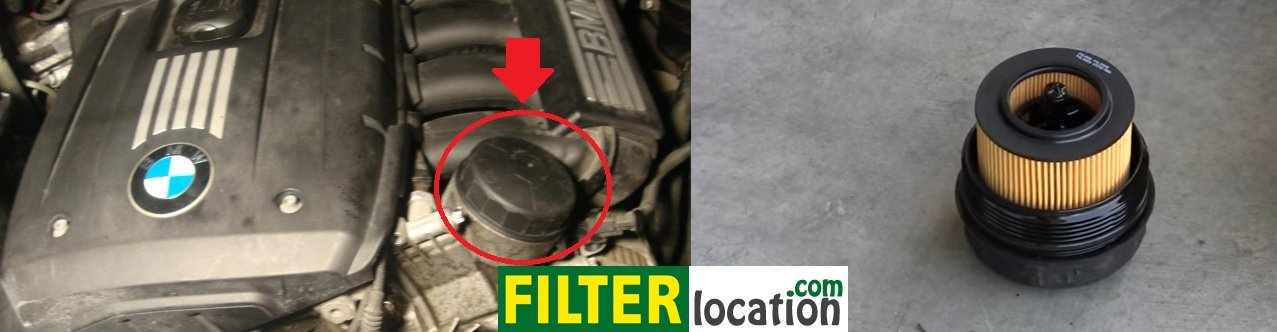 Install BMW 3 series engine oil filter