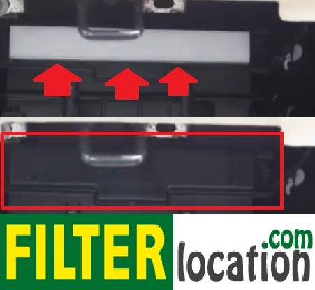 Install new Chrysler Sebring cabin air filter