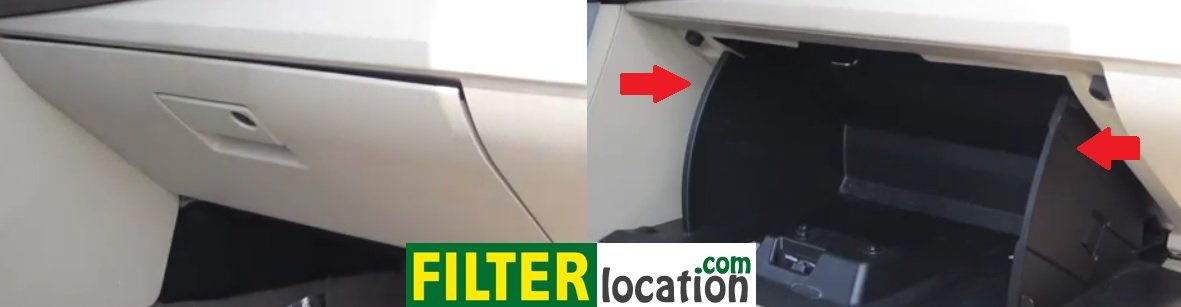 Where is located 2007, 2008, 2009 and 2010 Chrysler Sebring cabin air filterWhere is located 2007, 2008, 2009 and 2010 Chrysler Sebring cabin air filter