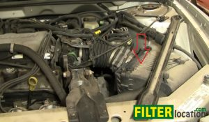 How to change the air filter on Buick Century 1997-2005