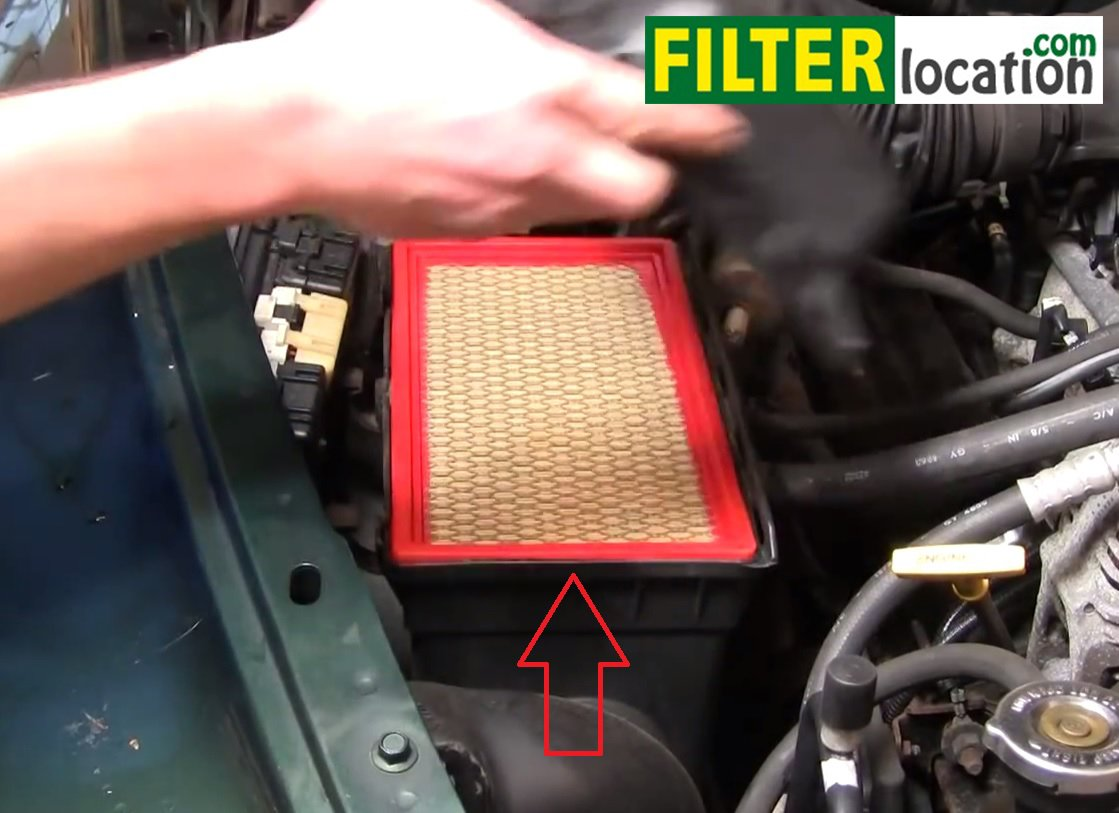 Remove And Replace The Air Filter On Dodge Durango on 2004 Dodge Stratus Fuel Pump Location