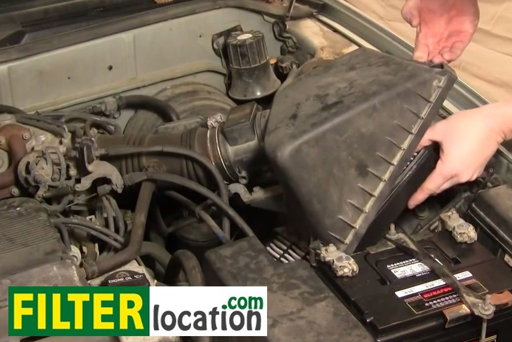 Diy  Change The Air Filter On Toyota Camry 1991