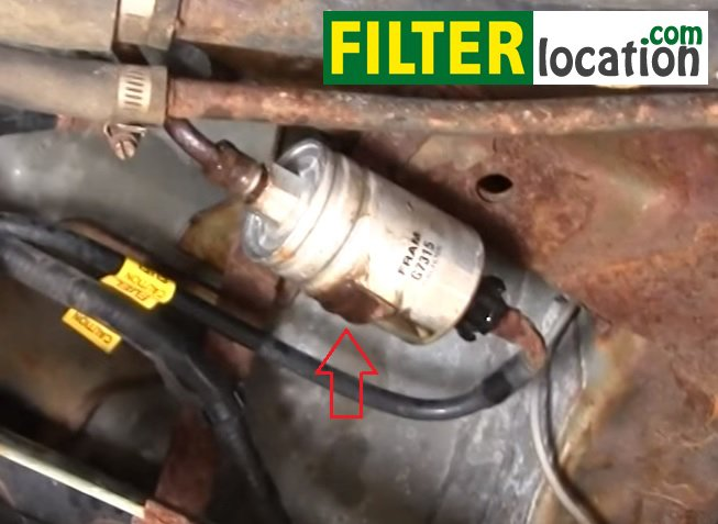 2005 Pontiac Vibe Fuel Filter Location - Get Rid Of Wiring Diagram