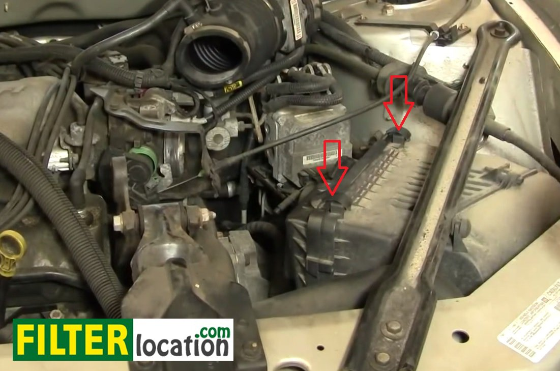 [DIAGRAM_38YU]  How to change the air filter on Buick Century 1997-2005 | Buick Century Fuel Filter |  | FilterLocation.com