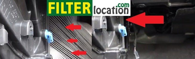 Install Ford Fiesta cabin Filter