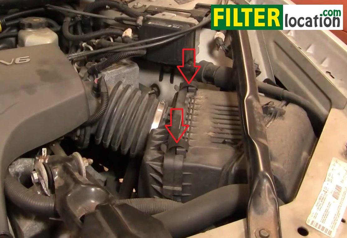 Remove And Replace The Air Filter On Chevy Impala