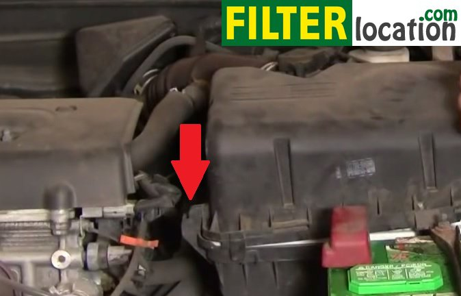 diy change the air filter on toyota camry 2002 2006. Black Bedroom Furniture Sets. Home Design Ideas
