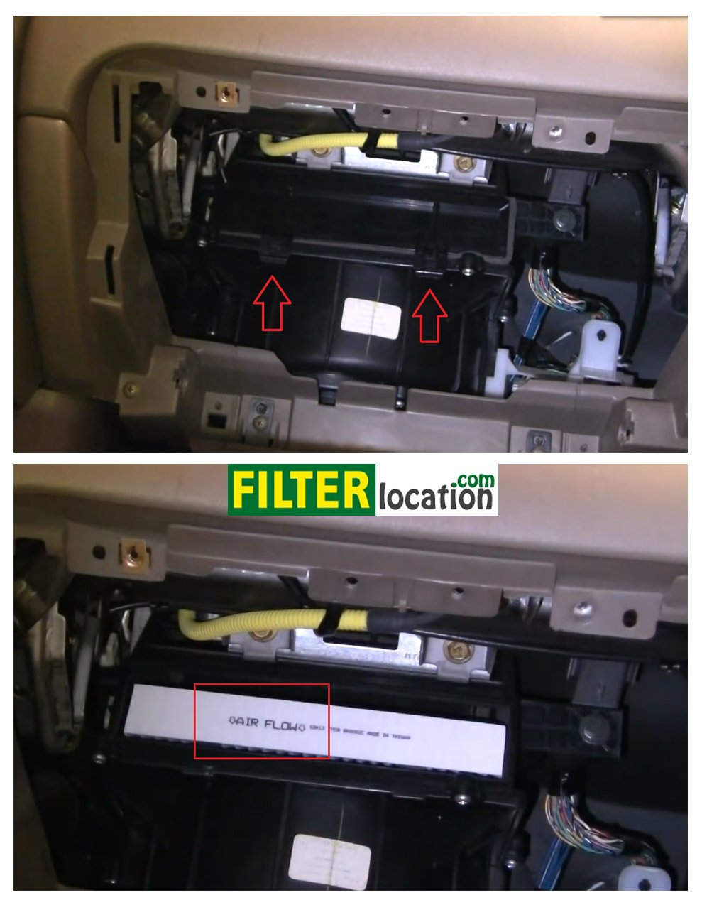 Cabin Air Filter Replacement Acura Tl Youtube
