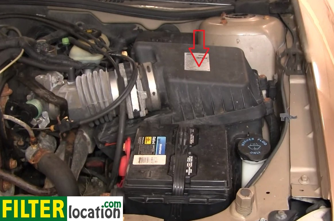 How to change the air filter on your Chevy Malibu: ...
