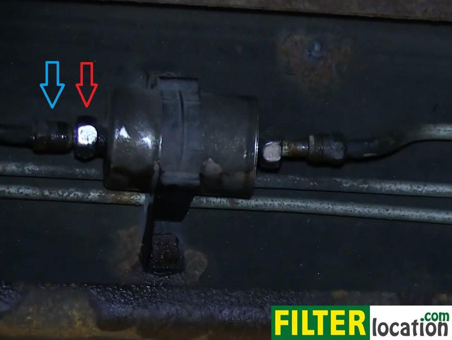2005 Gmc Yukon Fuel Filter Location