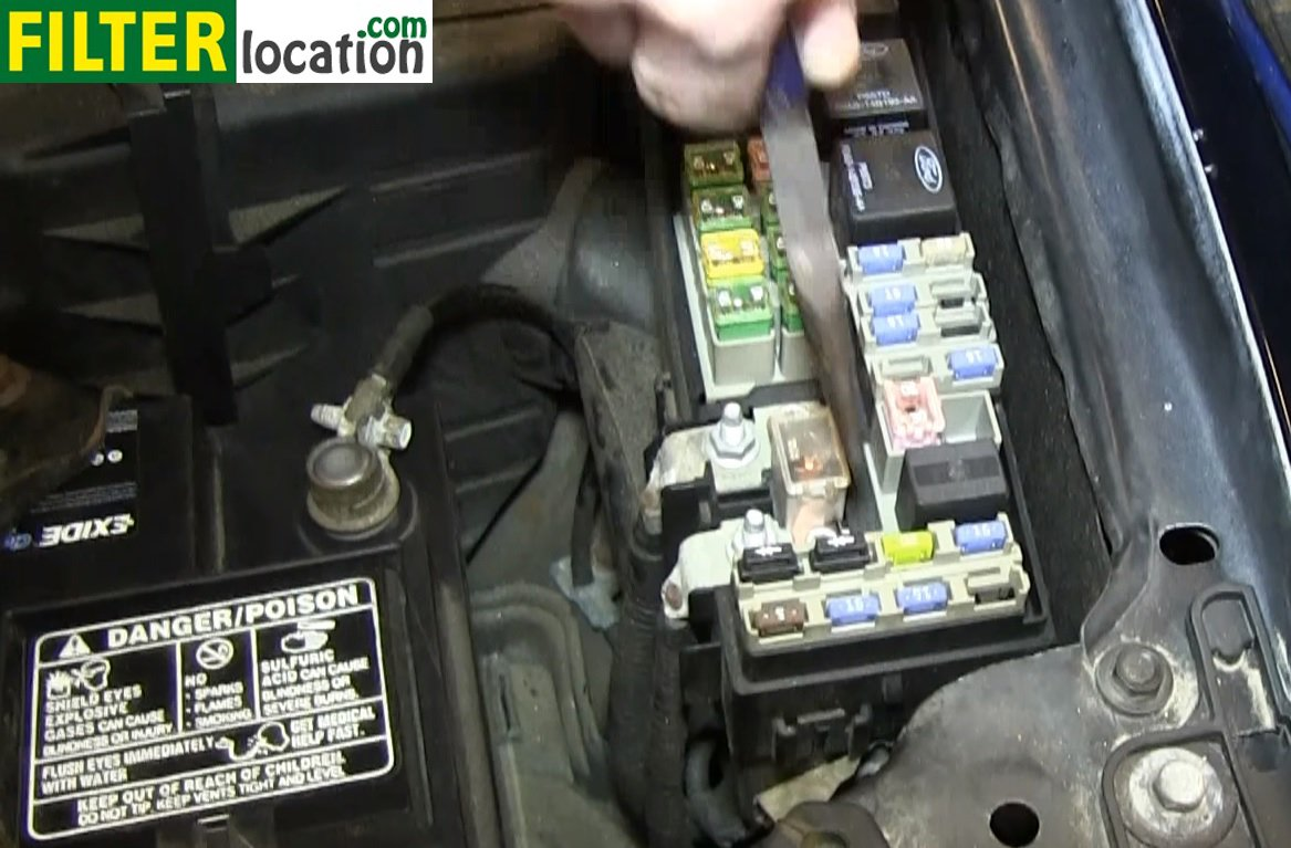 How To Change The Fuel Filter On Ford Escape 2002
