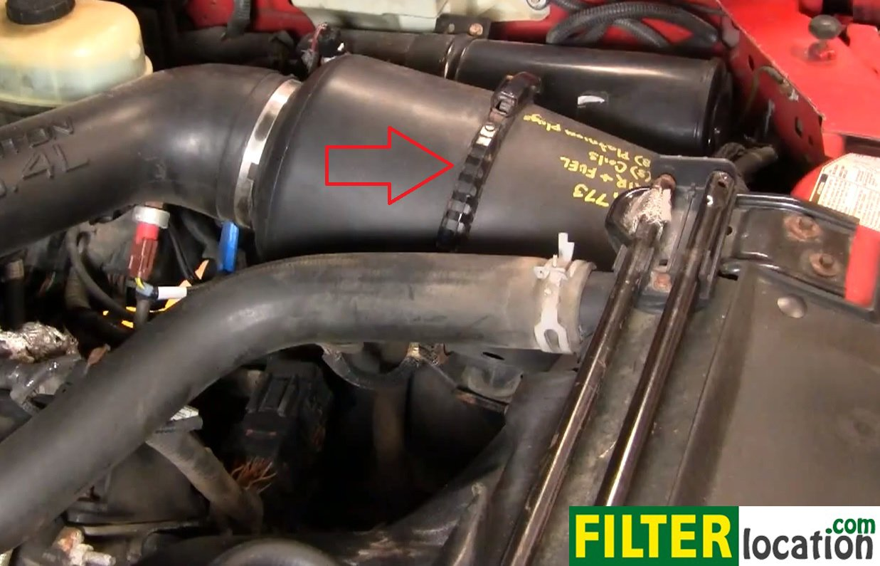 How To Change The Air Filter On Ford F250 Super Duty 1999 2004
