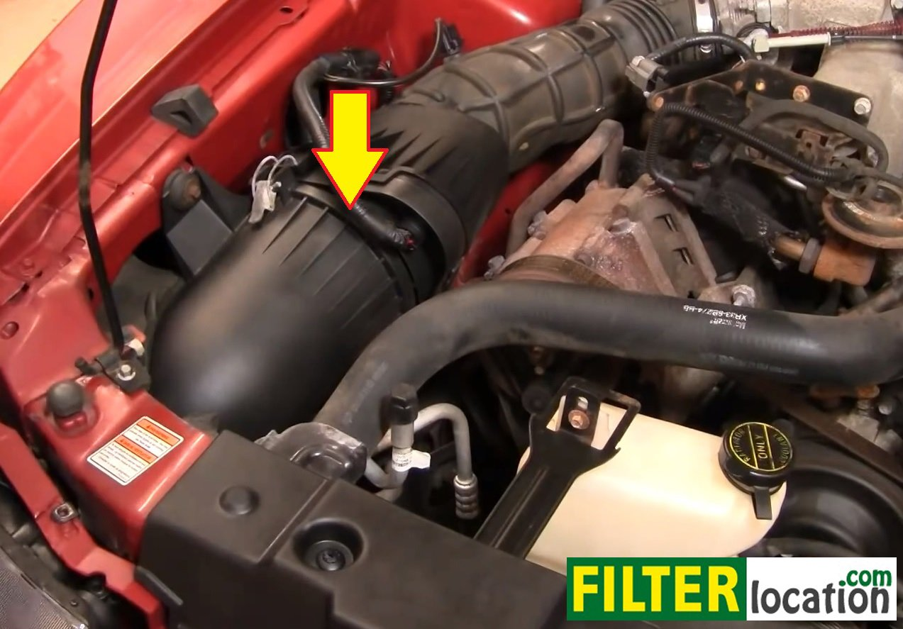 How to service the air filter on your Ford Mustang V6 1994-2004: ...