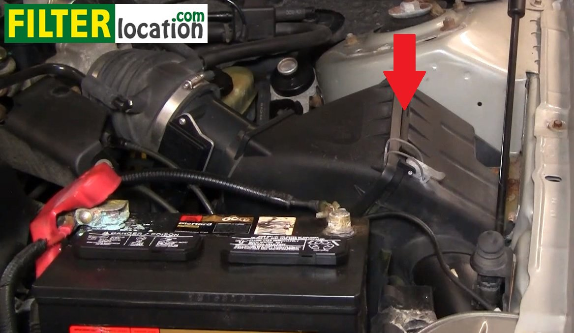 How to change the air filter on Mercury Sable 2000-2005 3.0L V6: ...
