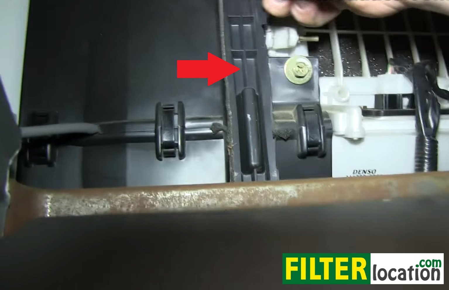 Service manual how to replace air filter in a 2002 suzuki for 2002 ford explorer cabin air filter location