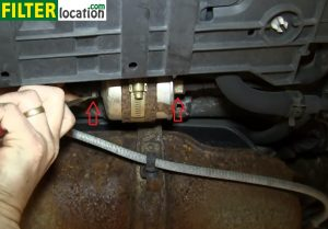pull the two fuel lines out, but make sure you have a drain pan  underneath, because some of the fuel stored on the lines will come out