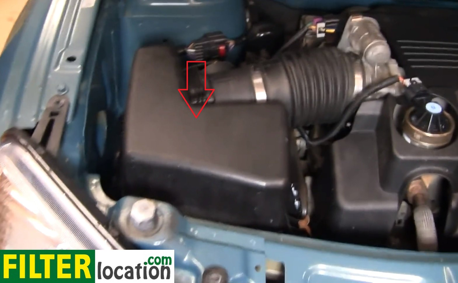 Air Filter Location On Chevy Equinox