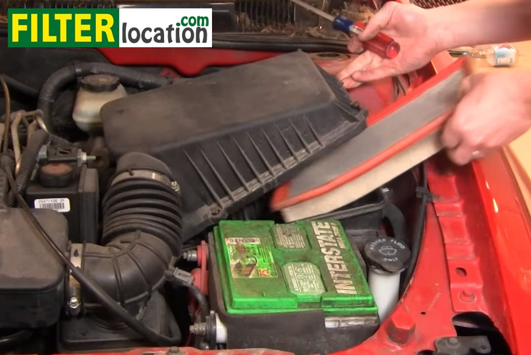 remove and replace the air filter on Oldsmobile Alero 1999 2004 1995 plymouth voyager repair manual lima stanito com \u2022