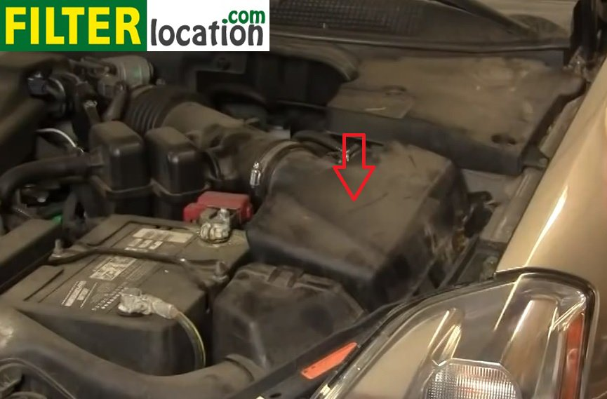 How To Change The Air Filter On Nissan Maxima 20042008rhfilterlocation: Air Filter Location At Gmaili.net